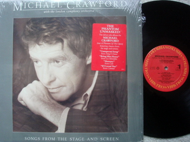 Columbia / MICHAEL CRAWFORD, - Songs from the Stage and Screen, MINT!