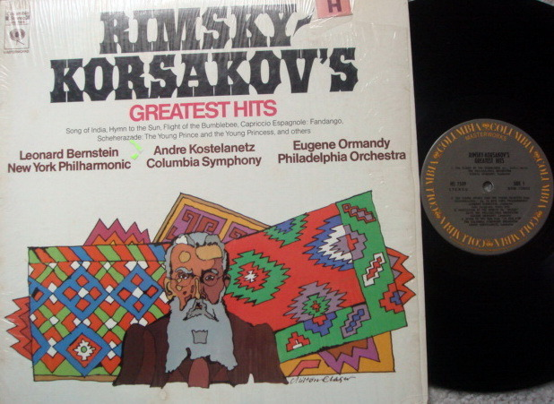 Columbia / BERNSTEIN-ORMANDY, - Rimsky-Korsakov's Greatest Hits, MINT!