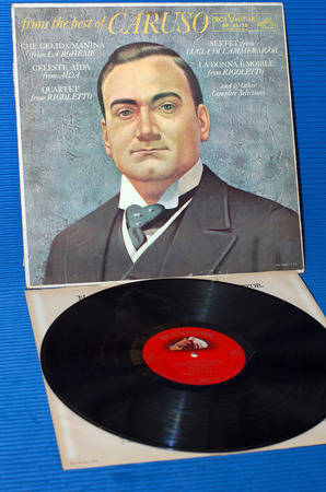 """CARUSO -  - """"From The Best Of Caruso"""" -  RCA 'Shaded Dog' 1960"""