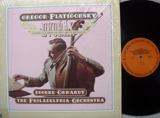 Columbia Odyssey / PIATIGORSKY-ORMANDY,  - Dvorak Cello Concerto, MINT!