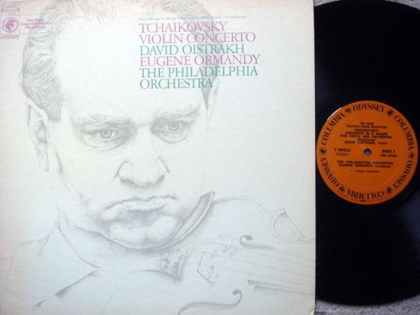 Columbia Odyssey / OISTRAKH-ORMANDY,  - Tchaikovsky Violin Concerto, NM!