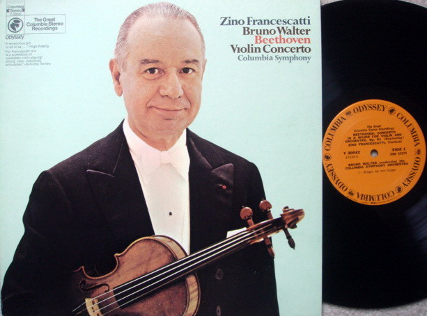 Columbia Odyssey / FRANCESCATTI-WALTER,  - Beethoven Violin Concerto, MINT!