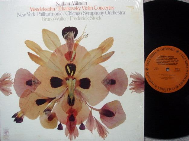 Columbia Odyssey / MILSTEIN-WALTER,  - Mendelssoh/Tchaikovsky Violin Concertos, MINT!