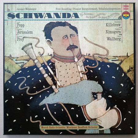 German CBS/Weinberger: Schwanda - / Heinz Wallberg conducting the Munich Radio Orchestra / NM