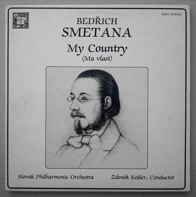 "MHS/Zdenek Kosler/Smetana - Ma Vlast ""My Fatherland"" / 2-LP / / NM"