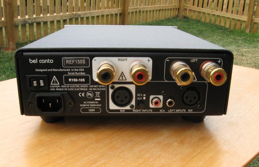 Bel Canto REF150S amp, like new, pics