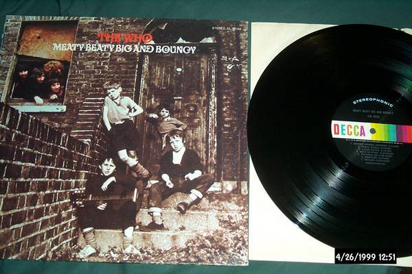 The who - Meaty Beaty Big And bouncy decca stereo lp nm