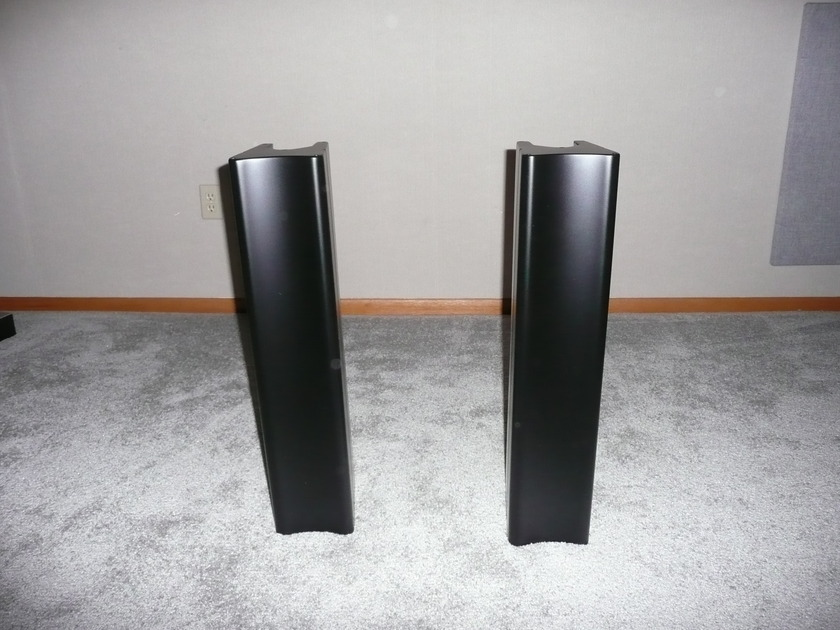 Revel Gems  - Pedestal with Base   - Matt Black/Black Ash - Pair
