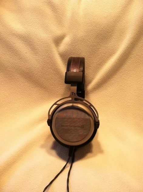 Beyerdynamic T-1 Headphones Recabled by Apuresound