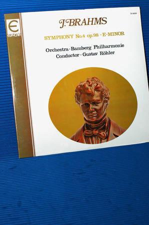 """BRAHMS/Rohler - - """"Symphony no.4"""" - Euphoria 1977 Sealed!"""