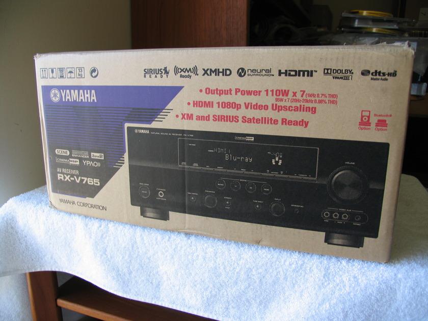 YAMAHA RX V 765 7.1 SURROUND SOUND RECEIVER