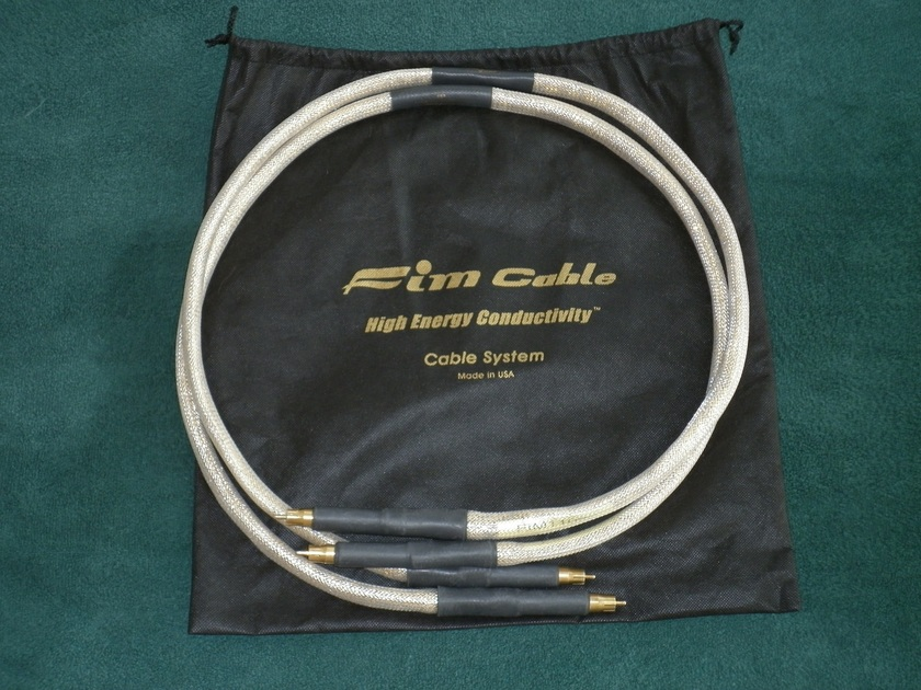 FIM HIGH ENERGY CONDUCTIVITY GOLD SERIES 4.5 FT RCA INTERCONNECT