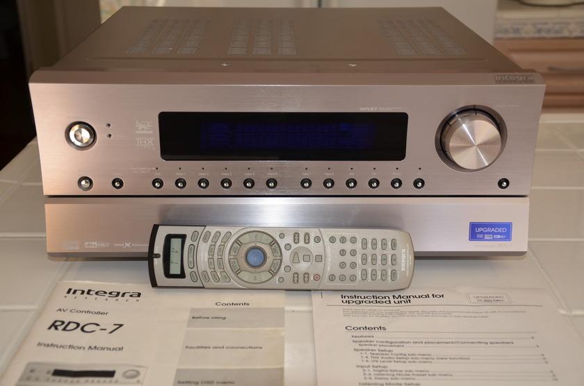 Integra Research RDC-7 upgraded pre-amp/processer