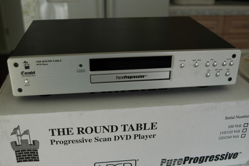 Camelot Technology round table mk. ii 24-bit/192 khz cd/dvd