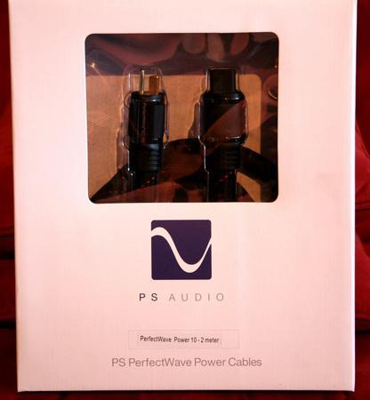 PS AUDIO Perfect Wave 10 2m AC Power Cord!!!