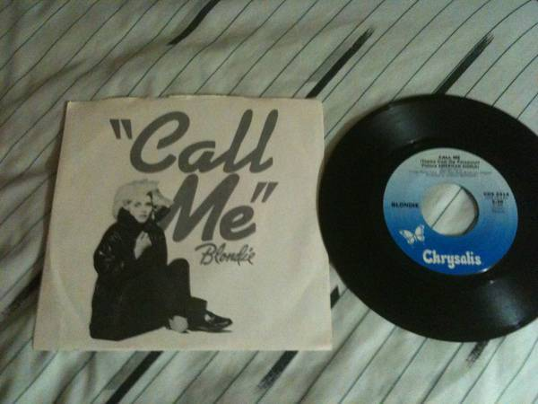 Blondie - Call Me 45 with picture sleeve