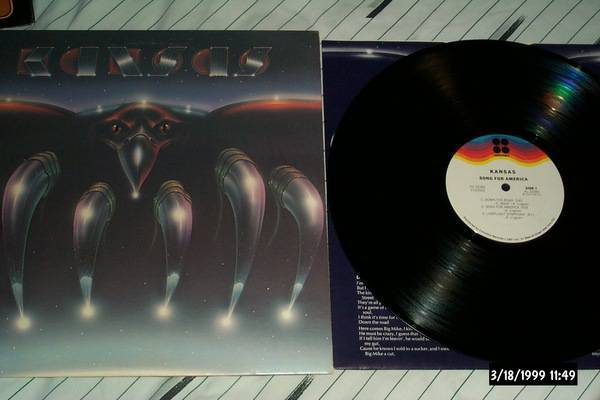 Kansas - Song For America lp nm