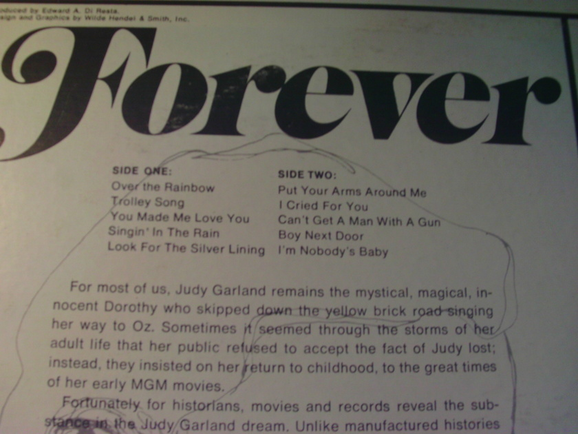 JUDY GARLAND - FOREVER JUDY