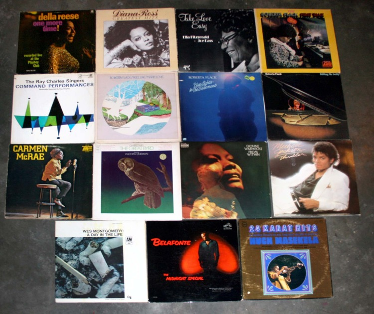Great LOT of 36 Jazz, Blues and Soul LP's! - Including, BB King, Ella Fitzgerald, Dave Brubeck. Modern Jazz, Windham Hill, Wes Montgomery