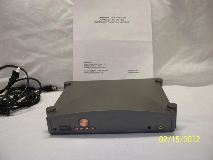 Stereo Link.Com DAC Converter  Model 1200