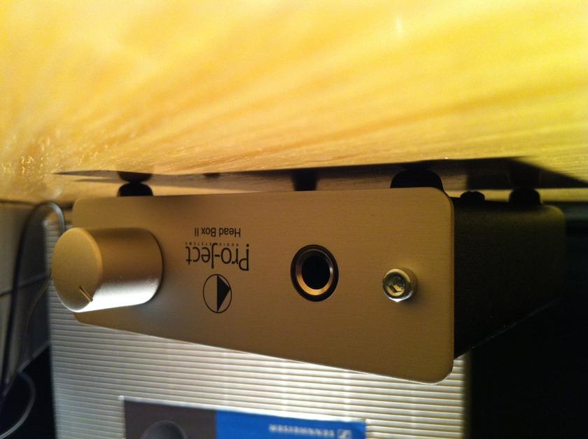 Pro-Ject Head Box II Headphone Amplifier