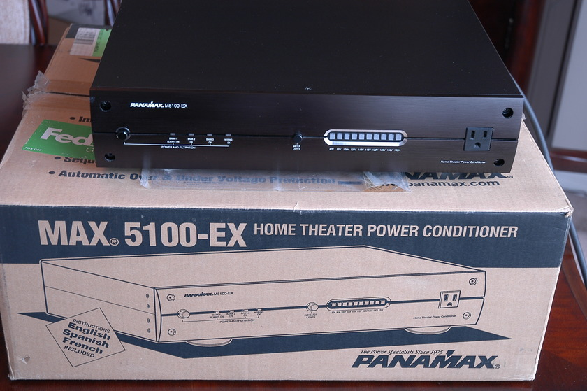Panamax 5100-EX home theater power conditioner