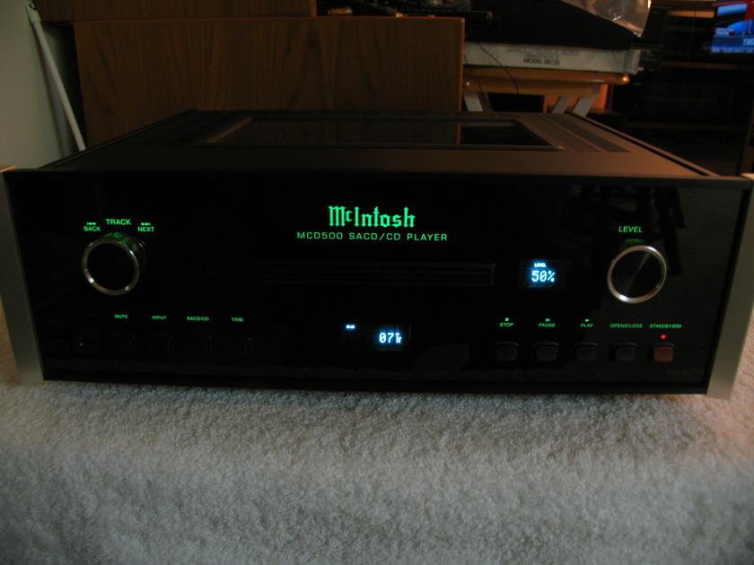MCINTOSH MCD 500  SACD/CD  MCINTOSH BEST SACD/CD PLAYER