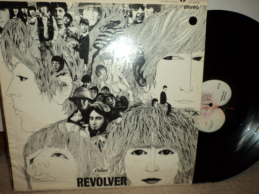 The Beatles  - Revolver ST 2576 1971 Apple (mfd. by Apple)