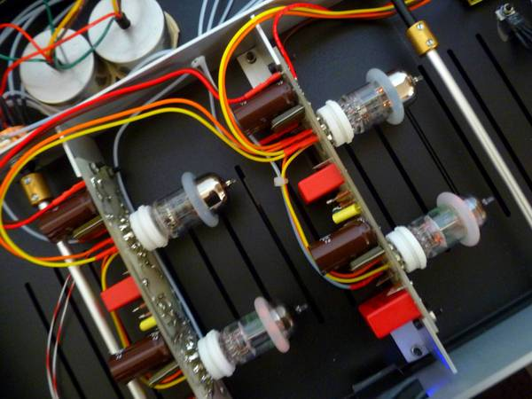 VALVET soulphono MM/MC tube phono amp - handmade in Germany