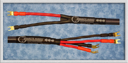 Granite Audio 577 - 7AWG Speaker Cable. 8Ft. Pair. New 2012 Product. NIB