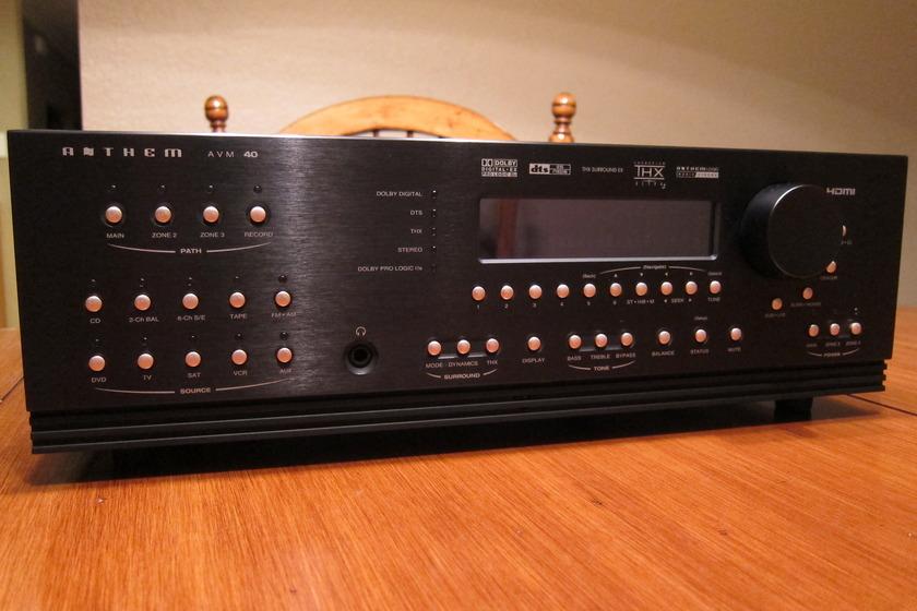 Anthem Surround Preamplifier AVM 40 w/ARC