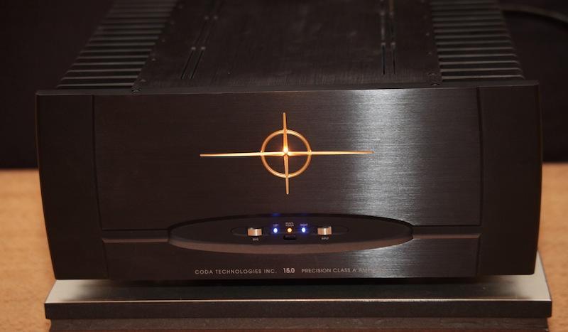 Coda Technologies 15.0 Class A Stereo Amp Black