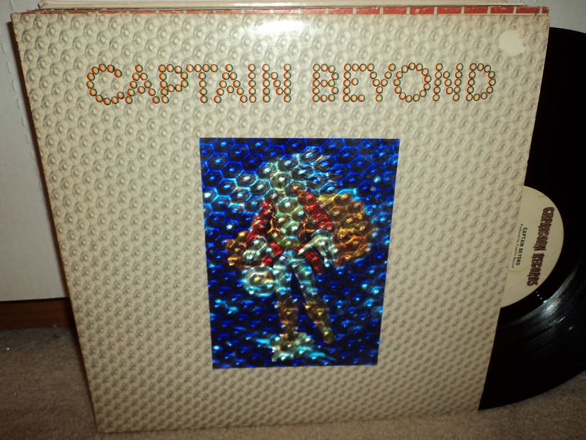 Captain Beyond  - 3-D Holograph Cover 1972 Capricorn NM/NM-