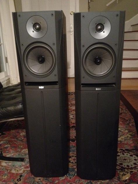 B&W (Bowers and Wilkens)  DM 305  Floor Standing Loudspeaker - Black