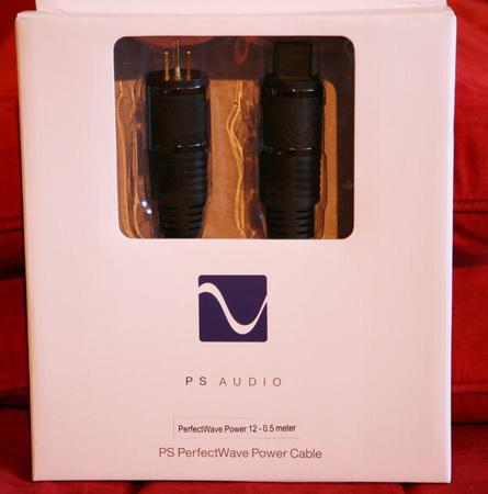 PS AUDIO Perfect Wave 12 .5m AC Power Cord!!!