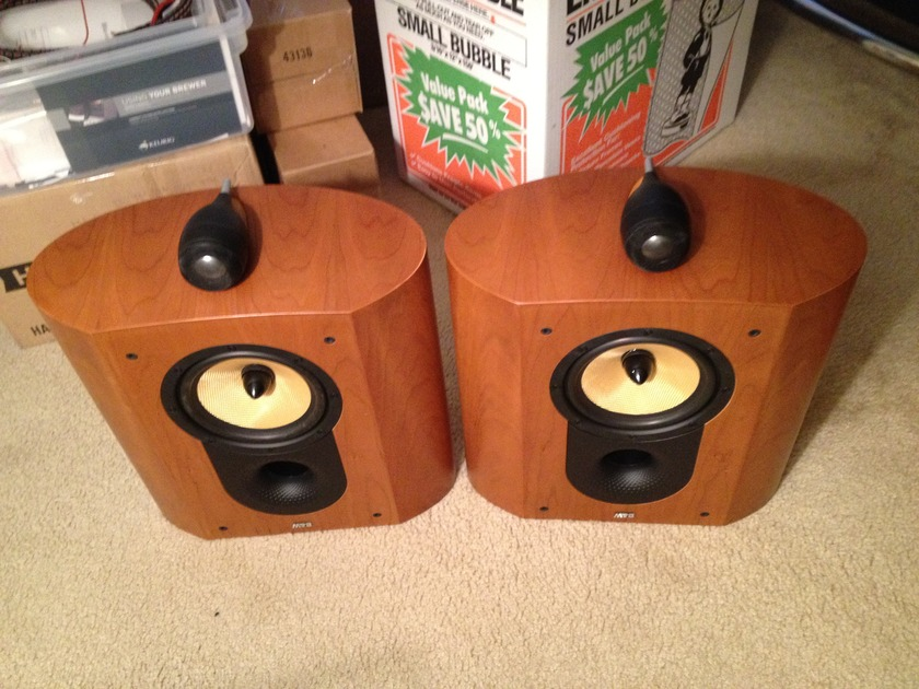 B&W Bowers and Wilkins SCM1 Pair in Cherry with original boxes