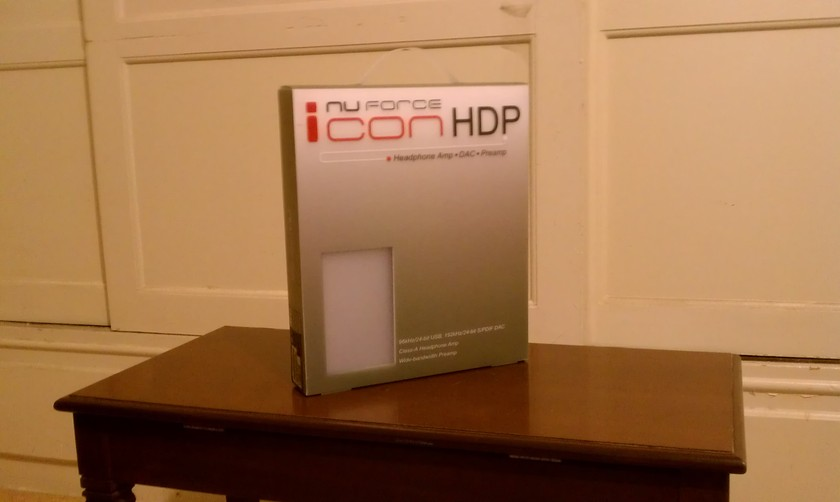 Nuforce Icon HDP New In Box (silver)