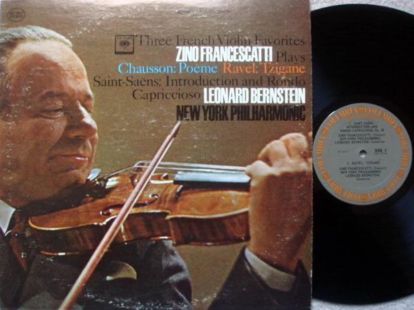 Columbia / FRANCESCATTI, - Three French Violin Favorites, NM!