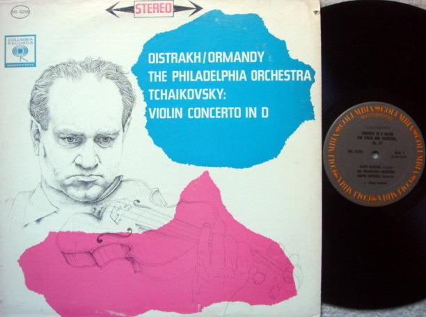 Columbia / OISTRAKH-ORMANDY, - Tchaikovsky Violin Concerto, MINT!