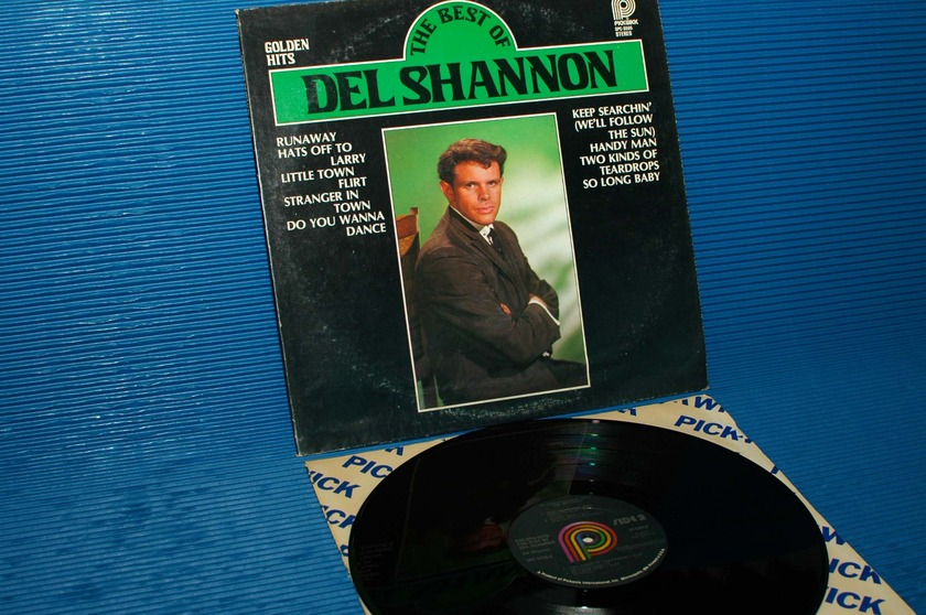 "DEL SHANNON -   - ""Golden Hits"" -  Pickwick 1978"