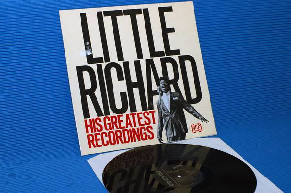 "LITTLE RICHARD -  - ""His Greatest Recordings"" -  ACE UK import 1984 mono"