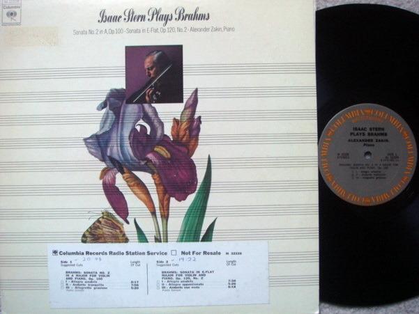 Columbia / STERN-Zakin, - Brahms Violin Sonatas, NM, Promo Copy!