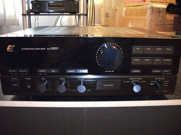 Sansui Au-X901 Integrated Amp balanced   rare