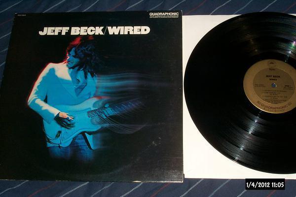 Jeff beck - Wired sq quad lp nm