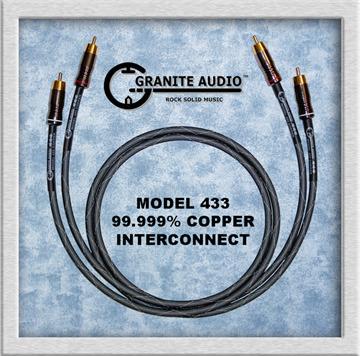 Granite Audio Model 433  Pure Copper Interconnect.