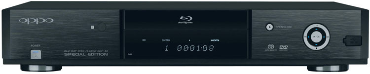 OPPO BDP-83 Special Edition Blu-ray Disc Player