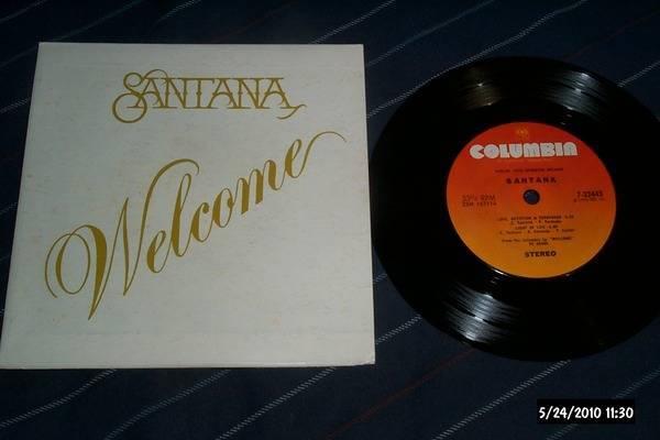 Santana - Welcome Playback EP nm