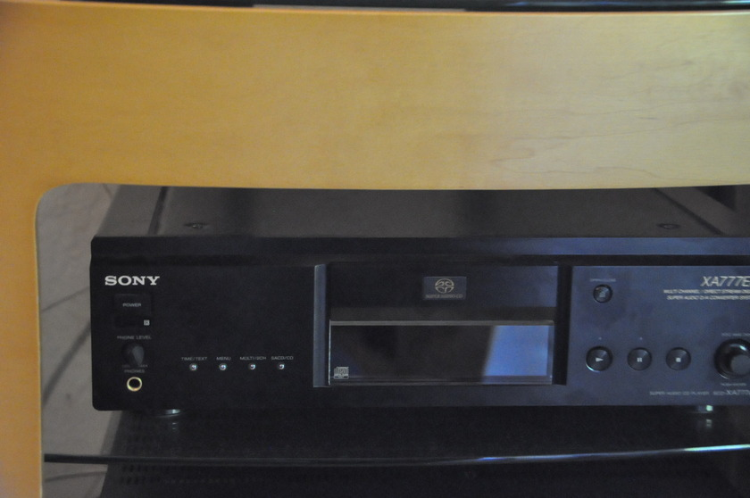 Sony scd-xa777es CD Player
