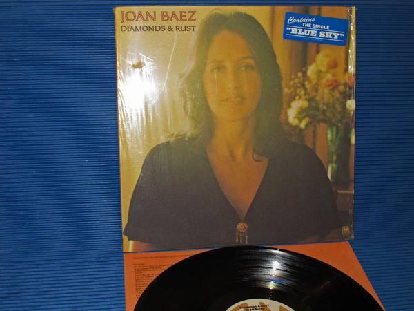 """JOAN BAEZ -  - """"Diamonds & Rust"""" - A&M 1975"""