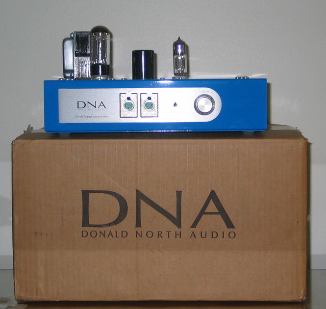 DNA Donald North Sonett  Balanced Headphone Amp NOS 6H30 Super tubes, Cardas